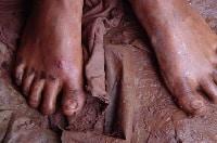 Cuento de miedo Pies Descalzos