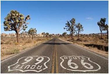 Leyenda Los fantasmas de la carretera 66