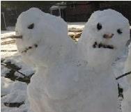 Leyendas de Estados Unidos muñecos de nieve