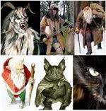 Demonios de Navidad leyendas de terror