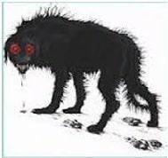 Cuento corto de terror El Perro del infierno