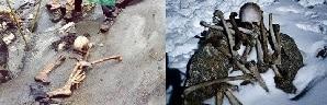 Leyenda de roopkund lago de los esqueletos
