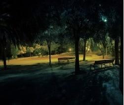 El parque embrujado