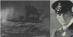 Leyenda del Submarino UB-65