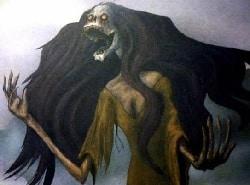 Mujer de la noche cuentos de terror