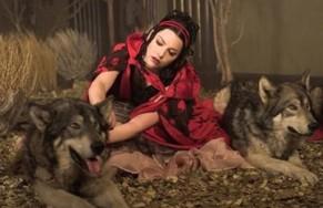 Historia de la dama de rojo