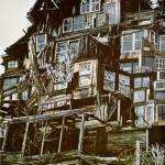 cuento de terror La casa de los espejos