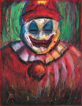 John Wayne Gacy pinturas oleo