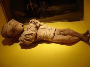 Momias de Guanajuato bebe