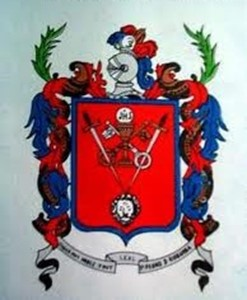 El luterano y el escudo de Riobamba