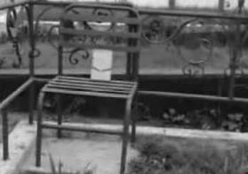 La silla del Cementerio