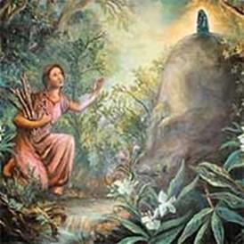 Leyenda de la Aparición de la Virgen de los Ángeles