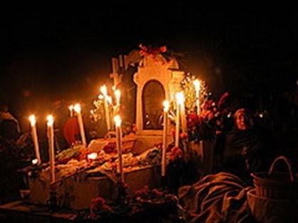 Cómo se celebra el día de muertos en Michoacan