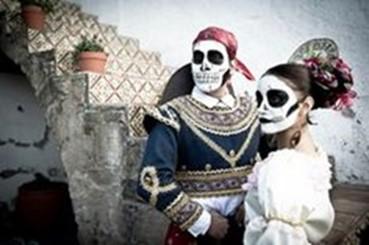 Celebración de los fieles difuntos en el estado de Chiapas